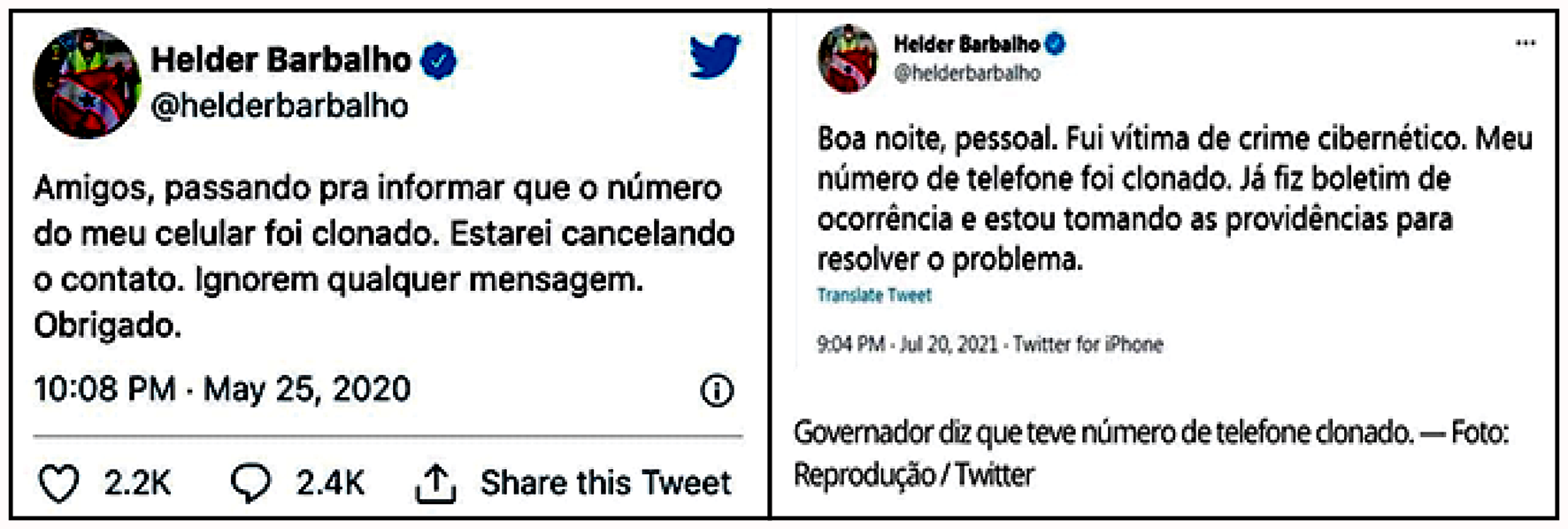 Read more about the article Carta do Leitor