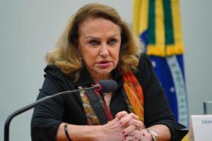 Deputada estadual é acusada de fazer campanha eleitoral antecipada sob a chancela do governo